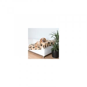 Fleecetæppe beige 150 x 100 cm.