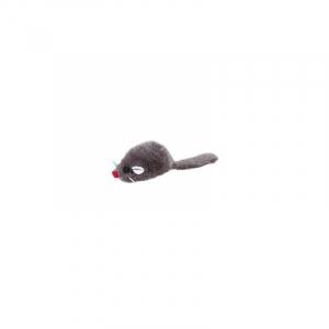 Pelsmus 5 cm. grå