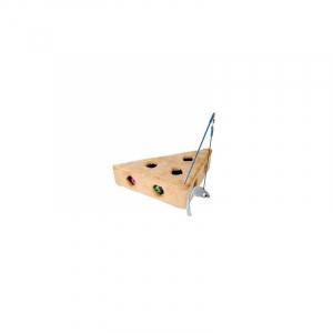 Cats cheese fiskestang og tre bolde, 36 × 8 × 26/26 cm.