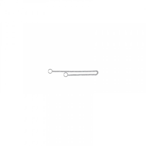 Kvælerhalsbånd kæde 60 cm / 4,0 mm