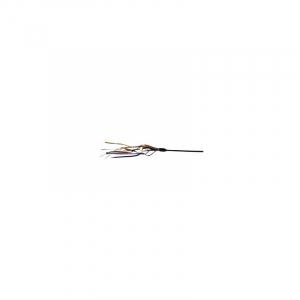 Drillepind med læderstrop, 65 cm.