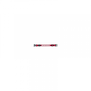 USB Flash halsbånd L-XL 50-60 cm./25 mm. rød