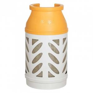 10 kg. Komposit letvægtsflaske inkl. gas. Medlemspris