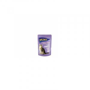 Mjau vådkost, Oksekød i gele 85 g. Naturlige råvarer uden unødvendig tilsætningsstoffer
