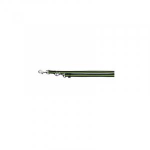 Fusion justerbar line S-L 2.00 M, 17 mm. sort/grøn