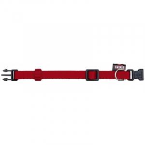 Premium Halsbånd, XXS-XS 15-25 cm/10 mm. Rød.