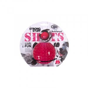Toy Shots Ball 9 cm. Karlie Flamingo, Kan flyde. 5 års tyggegaranti.