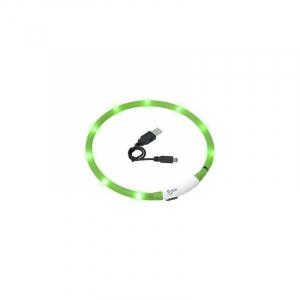 Visio light LED Grøn, hals størrelser fra 20-75 cm.
