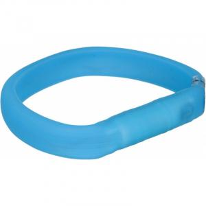 USB Flash light med blink og konstant lys. L-XL 70 cm./17 mm. Blå