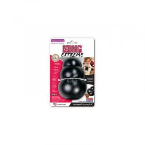 Kong Extreme sort, XLarge 13x9 cm., 27-41 kg. Fyld den med godbidder