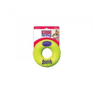 Kong Air dog donut med pibelyd, Medium, 13x4 cm.