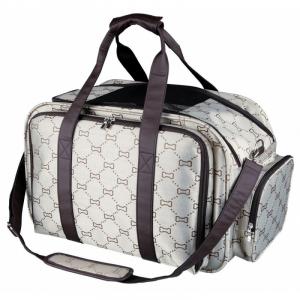 Maxima transporttaske. 33 × 32 × 54 cm. Op til 8 kg. for hund og kat.
