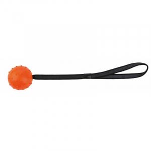 Bold på rem med håndtag, naturgummi, Ø 7/ 30 cm. Diverse farver