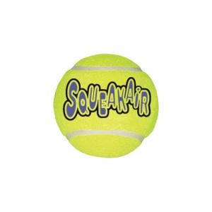 Kong AIRDOG SQUEAKER Tennisbold L, Ø 8Cm. Meget holdbar og med piv.