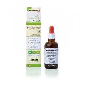 Anibio Nachtkerzenöl 50 ml. for en tæt blank pels, og mod skæl, allergisk kløe
