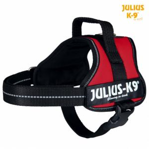 Julius K9 powersele Mini /M 51-67 cm. rød