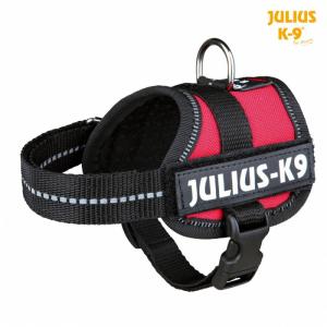 Julius K9 powersele Baby 1/XS 30-40 cm. rød