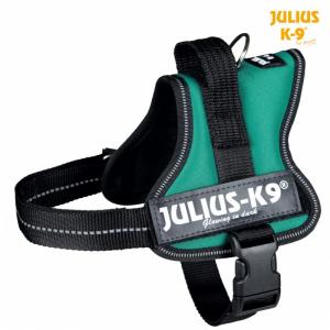 Julius K9 powersele Mini /M 51-67 cm. Grøn