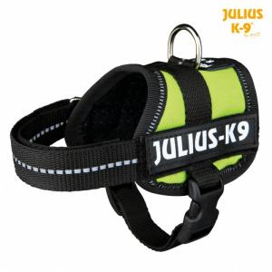 Julius K9 powersele Baby 1/XS 30-40 cm. Limegrøn