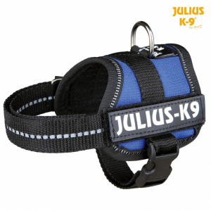 Julius K9 powersele Baby 1/XS 30-40 cm. Blå