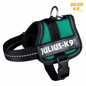 Julius K9 powersele Baby 1/XS 30-40 cm. Grøn