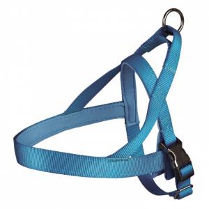 Norwegian sele ekstra høj kvalitet, elastisk og holdbar. 30-50 cm./25 mm. Blå