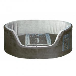 Best of all breeds seng til hund. 55x45 cm. Grå/lys grå.