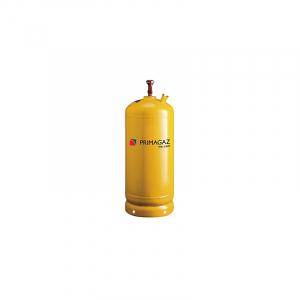 17 kg. Gul stålflaske inkl. gas. skal bestilles