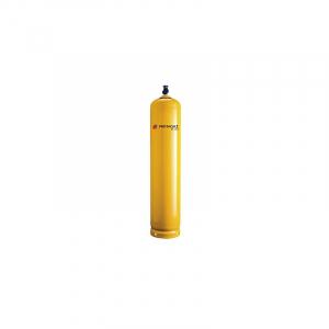 33 kg. Gul stålflaske inkl. gas. skal bestilles
