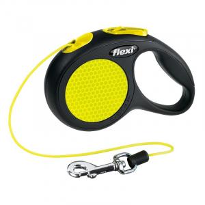 Flexi New Neon, XS, 3 M, med snor, 8 kg.