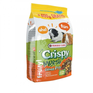 Crispy Muesli Guinea Pigs. Nu med 400 gram extra. (så længe lager haves)