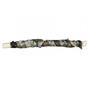 Dentafun tyggestang med fisk. Ekstra tyk hud for længere varighed. 12 cm. 10 stk./75 g.