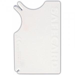 Safecard flåtfjerner, kreditkort format