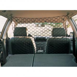 Bil net 1 x 1 Meter, sort. For fuld beskyttelse skal du stadig bruge sikkerhedssele.