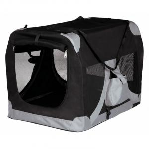 Mobil transportbur. Ideelt sted for kæledyret hjemme, på rejser eller på shows. XS-S 35 x 35 x 50 cm.