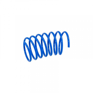 Katte legetøj spiralfjeder plastik ca. 5 cm. Blå