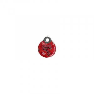 ROGZ ID Tag´S Rød. Kan matches med halsbånd, line eller sele.