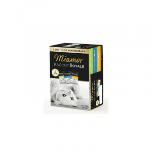 Miamor Ragout Royale multipak 12 x 100 g. 4 x kanin, 4 x tun, 4 x kylling
