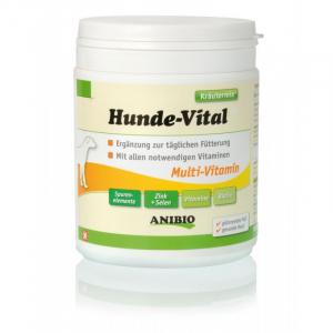 ANIBIO Hunde-Vital 420 g. Multivitamin tilsat alle nødvendige vitaminer.