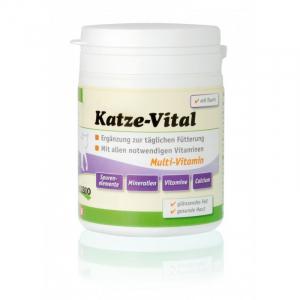 ANIBIO Katze-Vital 120 g. Multi vitamin kat. Til pels og sund hud.