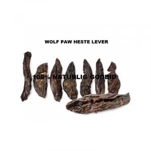 Wolf Paw Heste Lever 200 g. Lever fra hest, nænsomt tørret.