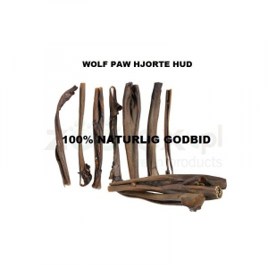 Wolf Paw Hjorte Hud 200 g. Hjorte hud, nænsomt tørret.