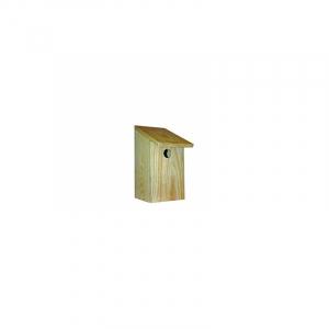 Vildfugle hus træ S 13 x 18 x 26 cm. med 3 cm. hul