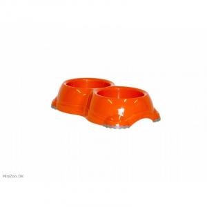Smarty Bowl dobbelt nr. 2 Orange. 2 x 645 ml.
