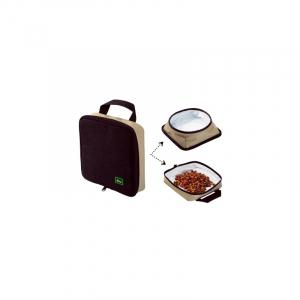 Hunter Rejesskål til foder og vand med lynlås. Nem at rengøre. Robuste materialer.