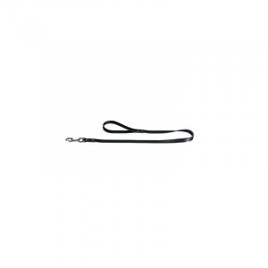 Hunter Line Softlæder M - L: Bredde 18 mm. Længde:100 cm. Sort