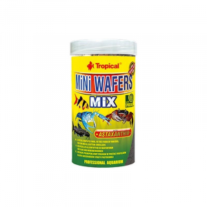 TC Mini Wafers Mix 250 ml. Tropical. Fiskefoder