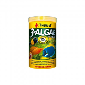 TC 3-Algae Flakes 250 ml. Tropical. Fiskefoder