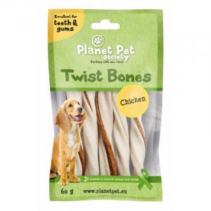PP Chicken Twist Bones. 60 g (5 stk / 11,5 cm)