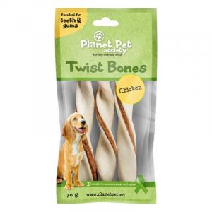 PP Chicken Twist Bones. 70 g (3 stk / 14 cm)
